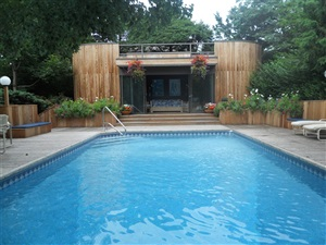 Pool Design- Deck Building